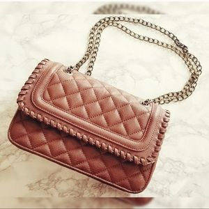 Express quilted satchel